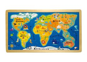 Immagine di Puzzle Mappamondo in Inglese - Small Foot