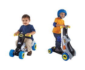 Immagine di Scooter e Monopattino 2 in 1 Batman - Fisher Price