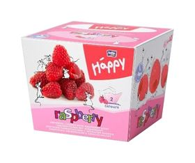 Immagine di Fazzolettini Bicolor Lampone Bella Baby - Happy