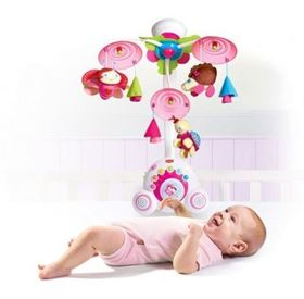 Giostrina Musicale Soothe n' Groove Mobile Princess Tiny Love con bimba