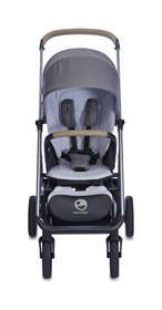 Passeggino Mosey Plus - Easywalker Pepple Grey FRONTALE