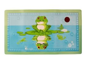 Tappetino antiscivolo con sensore temperatura acqua B-Bathmat Lovely Fishes Rana - Bo Jungle