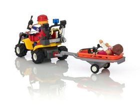 Quad Soccorso Alpino 9130 Action - Playmobil