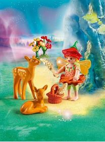 Fatina con Cerbiatti (9141) Fairies - Playmobil