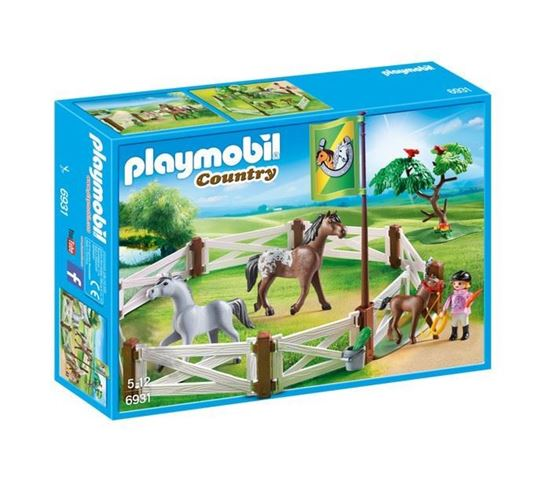 Recinto dei cavalli Country - Playmobil
