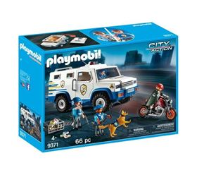 Furgone Portavalori City Action - Playmobil