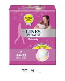 Pants Maternity, 10pz - Lines Specialist Maternity