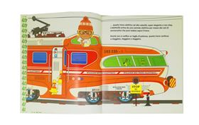 "Libro Illustrato ""Il Meraviglioso Mondo dei Treni di William Bee"" - Sassi Junior"