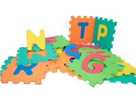 Tappeto Puzzle Abc Learning - Mamatoy