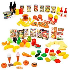Funny Food Set - Mamatoy