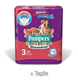 Pampers Progressi Mutandino