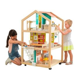 Casa delle bambole So Stylish con EZ Kraft Assembly™ - KidKraft