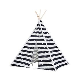 Tenda Indiana Teepee Stripes & Dots - BS Toys