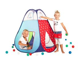 Tenda Pop Up Multicolore con 30 Palline - Micasa