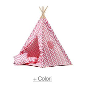 Tenda Teepee Herringbone Tropical Collection - Wigiwama
