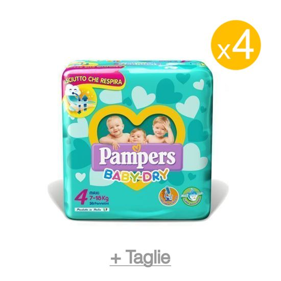 Pannolini Pampers Baby Dry pacco scorta, Immagine 1