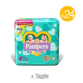 Pannolini Pampers Baby Dry Mega Scorta, Immagine 1