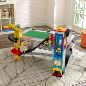 Set Pista e Tavolo Freeway Frenzy con tecnologia EZ Kraft Assembly, immagine anteprima