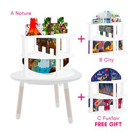 Bricks Tower Scenery Kit - Back to School MUtable cover